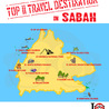 Top 11 travel destinations in Sabah