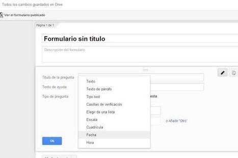 Google añade dos nuevos tipos de preguntas a los formularios de Google Drive | google + y google apps | Scoop.it