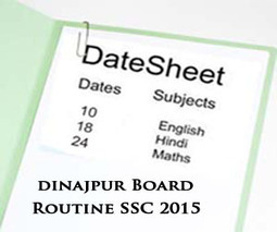 Dinajpur Board SSC Exams Routine 2015 Science & Arts | Education for Bangladeshi Student | Scoop.it
