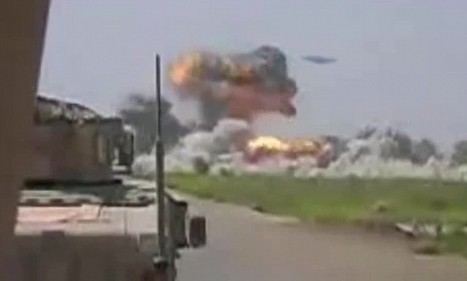 Mysterious 'UFO' filmed blitzing Taliban base in Afghanistan   WTF?   Scoop.it