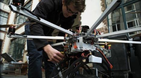 L'OM-Copter, un drone à 8 rotors qui filme en ultra haute définition (+ vidéos) | AEROIMAGENES | Scoop.it