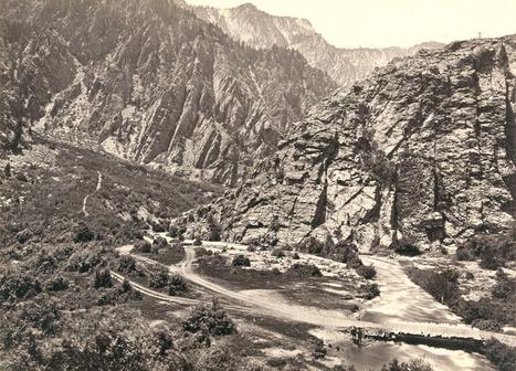 Toute l'immensité de l'Ouest américain, il ya 150 ans - lavenir.net   AmeriKat   Scoop.it