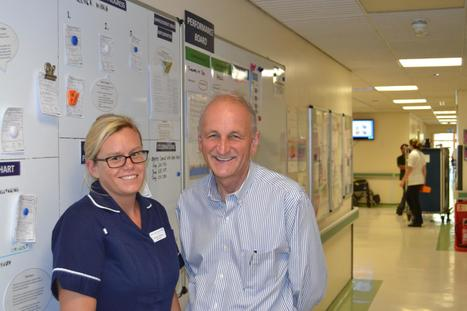 Outstanding hospital trust gets visit from influential health expert   Western Sussex Hospitals NHS Foundation Trust   Scoop.it