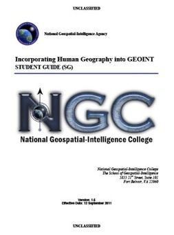 SECRET-National Geospatial-Intelligence Agency Student Guide | Geospatial Industry | Scoop.it