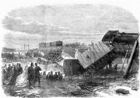 El accidente de tren de Charles Dickens ~ Curistoria | Rebeca: La Revolución Industrial | Scoop.it