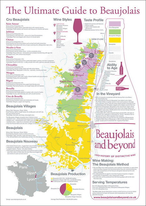 Introducing our 'Ultimate Guide to Beaujolais' infographic | Blog | Beaujolais and Beyond | Beaujolais | Scoop.it
