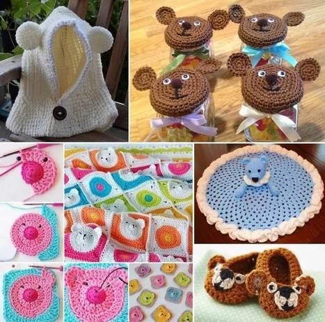 These Teddy Bear Crochet Projects Are Cuteness Overload   Stylish Board   Scoop.it