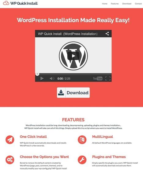 WP Quick Install ou comment déployer WordPress rapidement | SITADI | Scoop.it