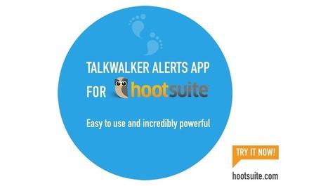 Les alertes #Talkwalker désormais intégrées à #Hootsuite via @crid   François MAGNAN  Formateur Consultant   Scoop.it