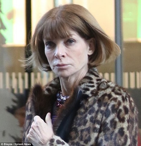 Rare sighting of Anna Wintour without her trademark sunglasses | Palpi Fashion & Style | Scoop.it