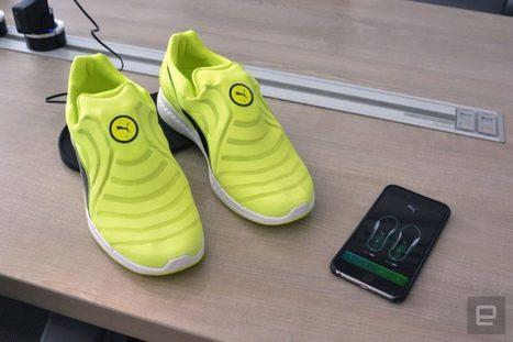 Autodisc : Puma aussi a des chaussures qui «se lacent» toute seules   L'innovation dans la filière cuir   Scoop.it