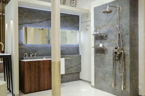 La feuille de pierre : un matériau design pour votre salle de bain | Tous mes scoops préférés ! | Scoop.it