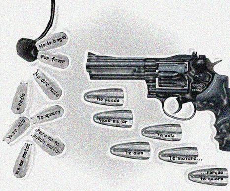 Poesía visual sobre violencia de género | violencia de genero | Scoop.it