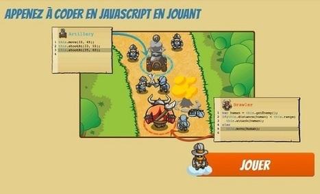 Code Combat : un jeu vidéo pour apprendre le JavaScript - CréaNum | Veille informatique | Scoop.it