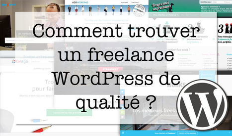 Comment trouver un freelance WordPress de qualité ? | WordPress France | Scoop.it
