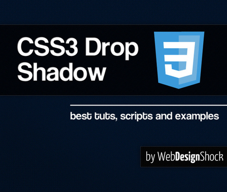 CSS3 drop shadow | let's make social games | Scoop.it