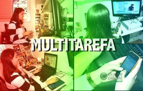 Olhar Digital: Pessoas multitarefa: mito ou realidade? | Multitasking | Scoop.it