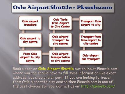 Oslo Airport Shuttle - Pksosl   pksoslo1   Scoop.it