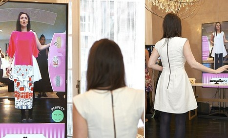 Virtual mirror lets you to try on your whole wardrobe before dressing | Kickin' Kickers | Scoop.it