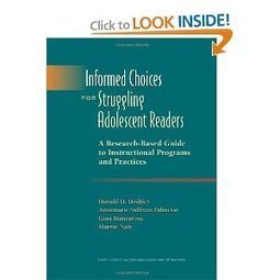 Amazon.com: Informed Choices for Struggling Adolescent Readers: A Research-Based Guide to Instructional Programs and Practices (9780872074651): Donald D. Deshler, Annemarie Sullivan Palincsar, Gina... | Donna R Brown | Scoop.it