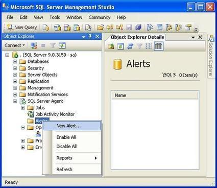 How to setup alerts and email operator notifications | Database Engine | Scoop.it