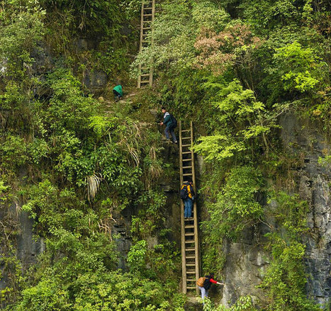 25 Of The Most Dangerous And Unusual Journeys To School In The World | Lika OLika | Scoop.it