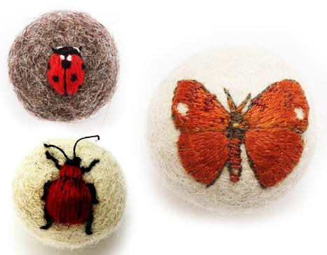 Claire Moynihan : Insectes Brodés en 3D avec de la Laine | ayiou | Scoop.it