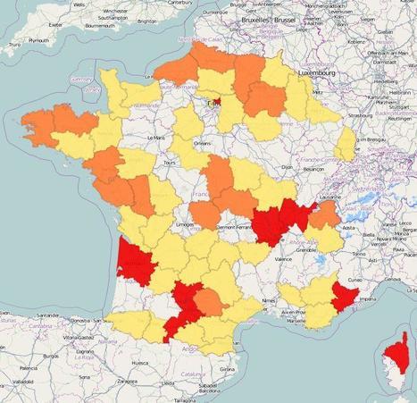 La carte des emprunts toxiques dans la région Rhône-Alpes | LYFtv - Lyon | Scoop.it