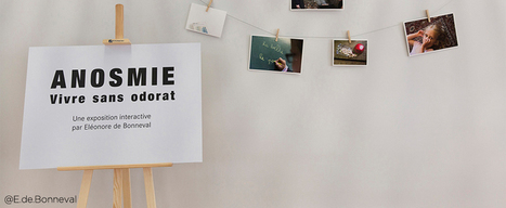 Anosmie : vivre sans odorat, une exposition interactive | Les actualités du groupe Traces et de l'Espace des sciences Pierre-Gilles de Gennes de l'ESPCI ParisTech | Scoop.it