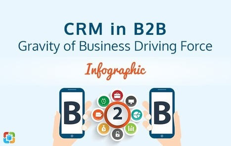 CRM in B2B: Gravity of Business Driving Force [Infographic] | CRM Reviews | Scoop.it
