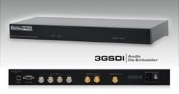 Gefen Releases Two New Products, One that Embeds Audio on a 3GSDI Output and One that De-Embeds Audio from a 3GSDI stream to AES/EBU Audio Format | The Meeddya Group | Scoop.it