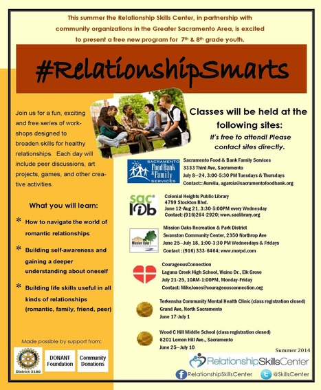 Youth Program - skillscenter.org | Healthy Marriage Links and Clips | Scoop.it