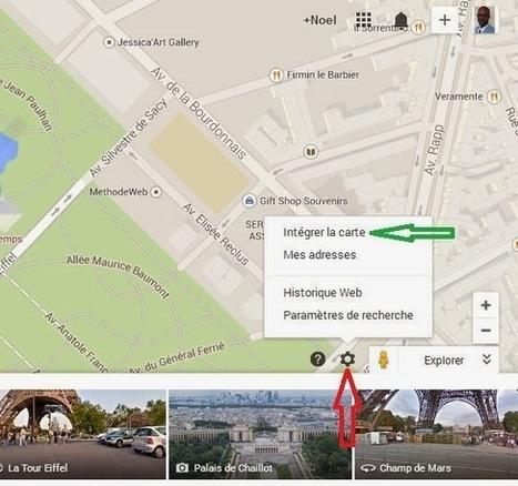 Le nouveau Google Maps permet d'intégrer une carte personnalisée dans votre site | Optimisation | Scoop.it