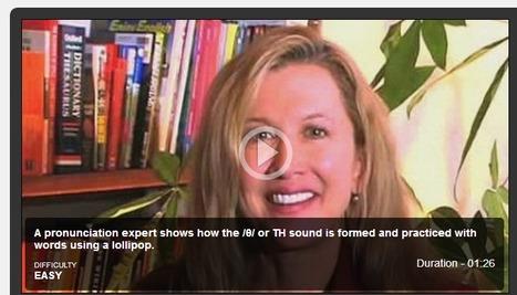 Pronunciation videos | EnglishCentral World Report | Scoop.it