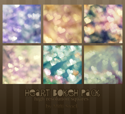Heart Bokeh Pack by ~Mifti-Stock on deviantART | iBooks Author | Scoop.it