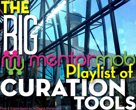 The BIG MentorMob Playlist of Curation Tools | The Daring Librarian | Social Media: Don't Hate the Hashtag | Scoop.it