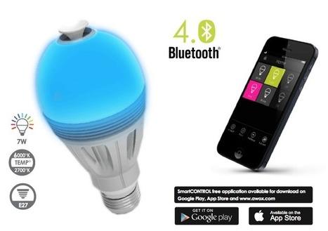 Les ampoules Awox AROMAlight et CamLIGHT, entre utilité et sérénité   Le monde du mobile et ses nouveaux usages : news web mobile, apps en m sante  et telemedecine, m learning , e marketing , etc   Scoop.it