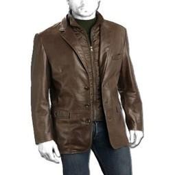 Leather Blazer | Mens Leather Blazers | Buy Fabulous Leather Blazer Online | LeatherNXG Online | Scoop.it