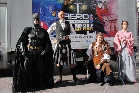 Marseille : Un Festival dédié aux Héros se tiendra les 8 et 9 novembre au Parc (...) - DestiMed | Bande dessinée et illustrations | Scoop.it