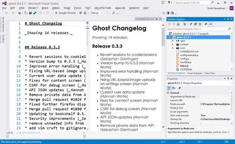 Microsoft Launches Node.js Tools For Visual Studio   TechCrunch   Node.js   Scoop.it