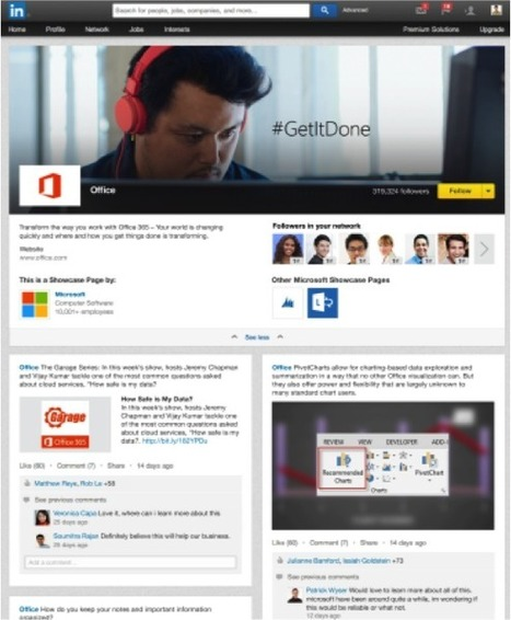 LinkedIn introduces Showcase Pages | Public Relations & Social Media Insight | Scoop.it