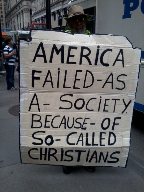 Christian groups ask God to make Occupy Wall Street GO AWAY | Modern Atheism | Scoop.it