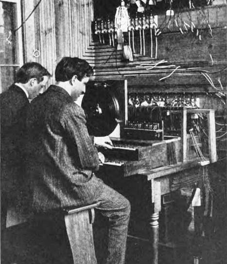 The Telharmonium Was the Spotify of 1906   Outbreaks of Futurity   Scoop.it