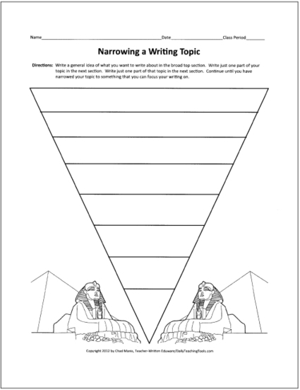 Free Graphic Organizers for Teaching Writing | AC Thinking Skills and Graphic Organisers | Scoop.it
