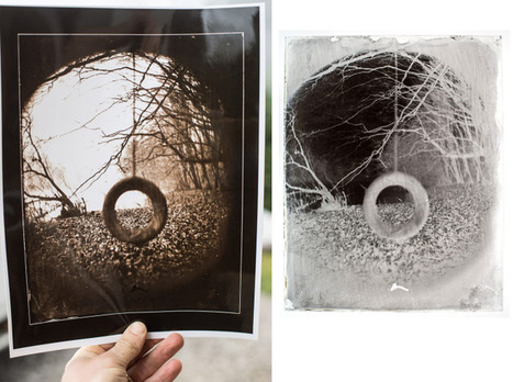 Wet plate collodion process and silver-bath maintenance