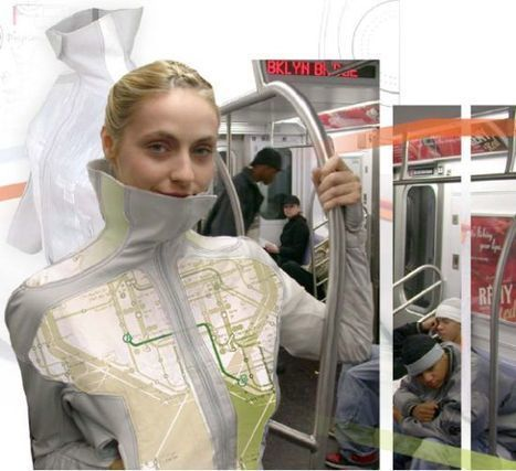 A walking billboard in the future anyone? | la communication du futur | Scoop.it