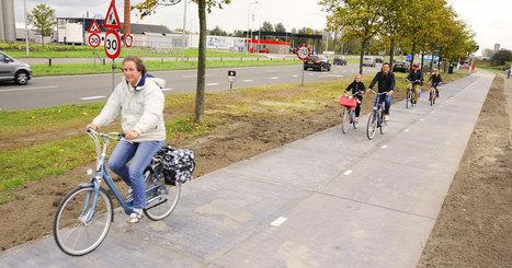 À Amsterdam, cette piste cyclable solaire de 70m de long alimente 2 maisons. Demain, ce sera peut-être une ville ! | Territoires et Développement Local | Scoop.it