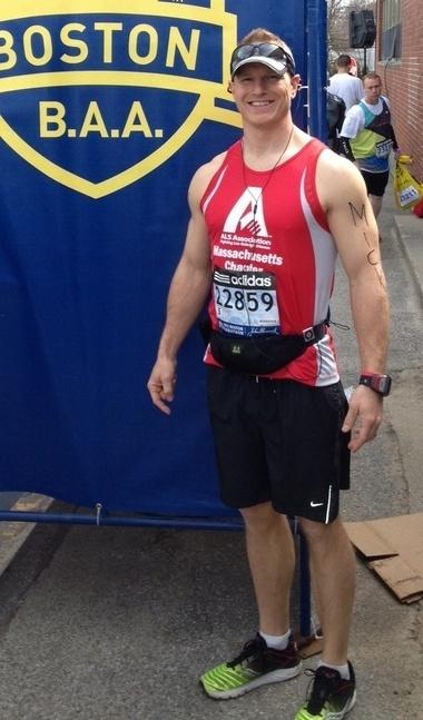 Former Penn State Fullback Mick Blosser finished Boston Marathon l Raises $7,000 for ALS l Lou Gehrigs Disease | #ALS AWARENESS #LouGehrigsDisease #PARKINSONS | Scoop.it