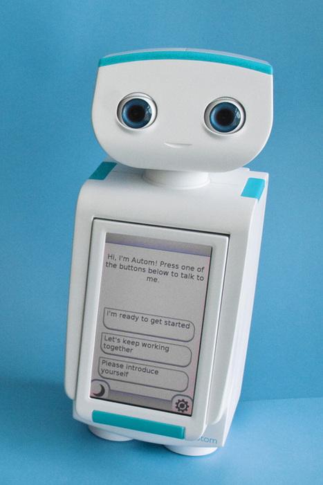 Autom™ votre robot coach minceur | Actualités robots et humanoïdes | Scoop.it
