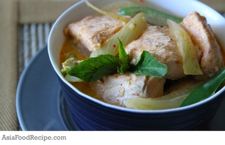 Salmon-Fennel Red Curry | Asia Food Recipe | The Asian Food Gazette. | Scoop.it